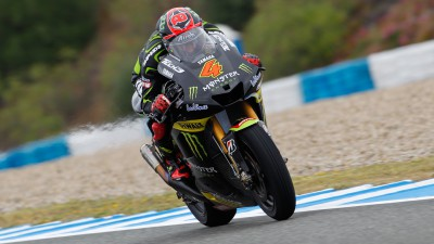 Solid start for Dovizioso and Crutchlow at rain-hit Jerez