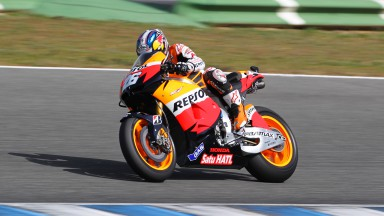 Pedrosa 2nd and Stoner 5th in thrilling QP in Jerez