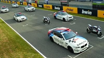 La flotta Safety Car MotoGP™ presentata a Jerez