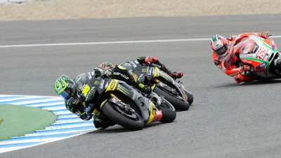 Crutchlow fourth after podium challenge in Jerez
