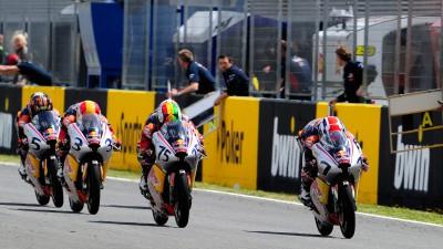 Red Bull Rookies Race 2 - Baldassarri bounces back to win
