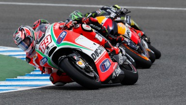 Ducati pair eighth and ninth in Spanish Grand Prix
