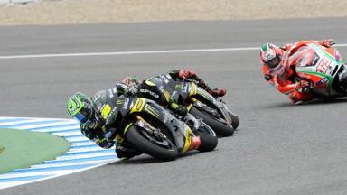 Crutchlow roza de nuevo el podio de MotoGP™ en Jerez
