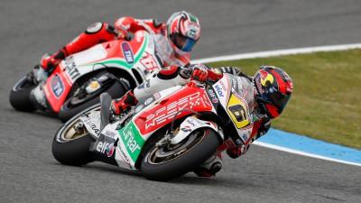 Bradl progresa con un séptimo puesto en Jerez