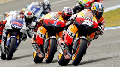 Il team Repsol Honda verso Estoril
