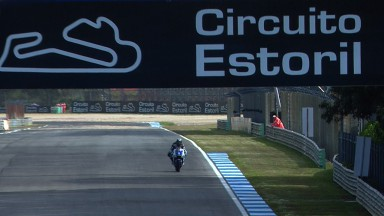 Spies on top in tricky first MotoGP™ practice at Estoril