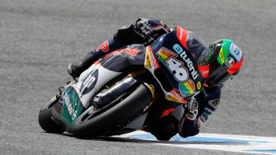 Espargaró leads first Moto2™ practice at Estoril