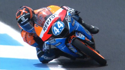 Local rider Oliveira fastest in second Estoril Moto3™ free practice