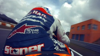 Stoner sets the pace in second MotoGP™ free practice