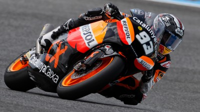 Marquez goes fastest in final Moto2™ free practice