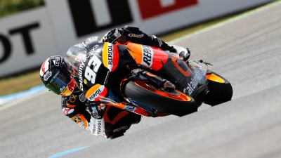 Marquez secures pole in Estoril thriller