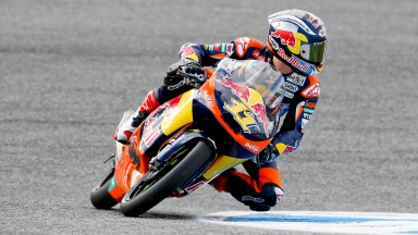 Cortese foi o mais rápido no warm-up de Moto3 no Estoril