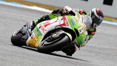 Difficult race for Pramac's Héctor Barberá