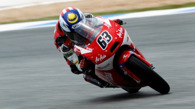 Khairuddin's Estoril Moto3™ result sets new Malaysian record
