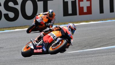 Repsol Honda-Duo hat Podium in Le Mans fest im Blick