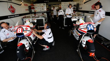 Troca de chassis de Moto2™ continua em Le Mans