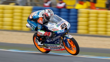 Viñales sets early pace in Le Mans Moto3™ free practice