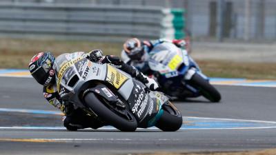 Luthi, delante en la FP1 de Le Mans