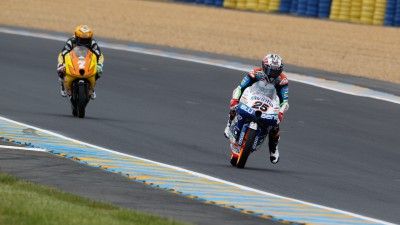 Viñales finishes top in second free Moto3™ practice at Le Mans