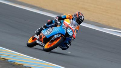Miguel Oliveira satisfeito com moto em Le Mans