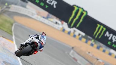 Dupla da Yamaha em busca de mais ritmo em Le Mans