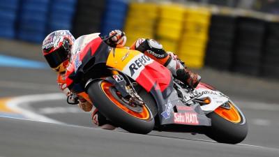 Repsol Honda Team bestimmt Tempo in Le Mans