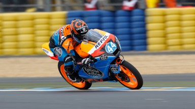 Oliveira heads final Moto3™ free practice at Le Mans