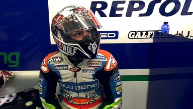 Viñales takes pole in incident-packed Moto3™ qualifying