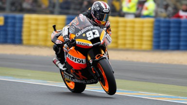 Márquez claims Moto2™ pole position at Le Mans