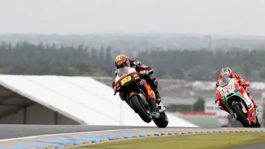 Bautista rues qualifying crash