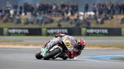 Bradl zuversichtlich trotz Sturz im Qualifying von Le Mans