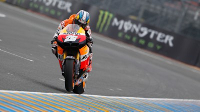 Pedrosa takes pole with Stoner in second