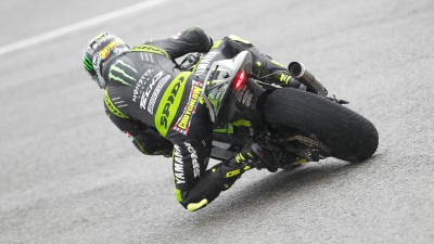 Crutchlow sets wet benchmark in Le Mans warm-up