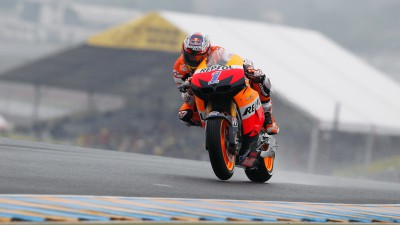 Stoner takes podium with Pedrosa in fourth