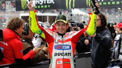 Ancora Le Mans, ancora Rossi