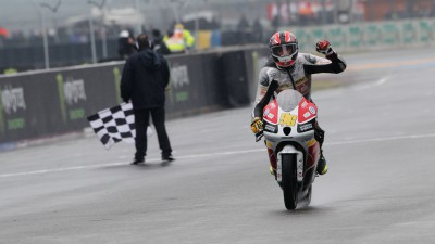 Louis Rossi reflects on emotional first win in front of home crowd