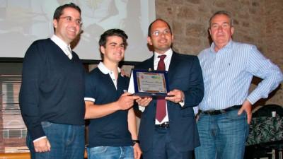 Romano Fenati premiato nella sua Ascoli Piceno