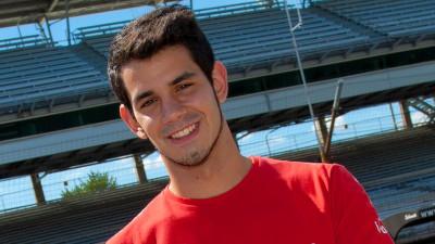 Jordi Torres, con el Tech 3 Racing en Catalunya