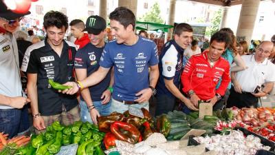 Incursión en la cocina catalana para los pilotos del MotoGP™
