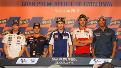 MotoGP™ stars gather for pre-Catalunya press conference