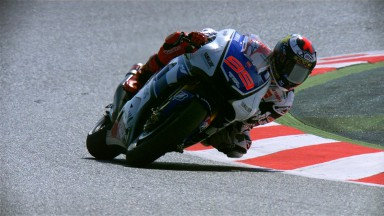 Lorenzo domina le fp2 di 'casa'