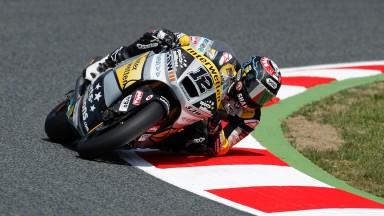 Lüthi fastest again in second free practice at Catalunya