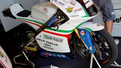 La MotoGP a supporto delle vittime del sisma in Italia