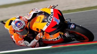 Productive start for the Repsol Honda Team in Catalunya