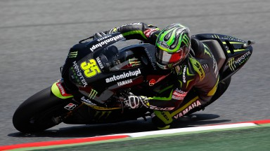 Crutchlow storms to front row at Catalunya
