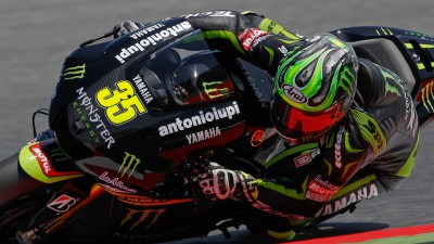 Crutchlow mène un warm-up accidenté à Catalunya