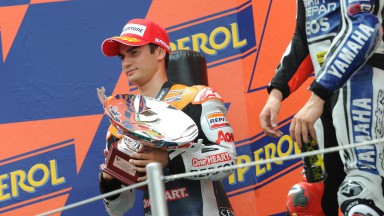 Pedrosa takes second at home race