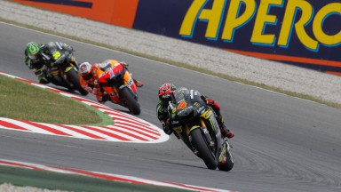 Dovizioso, primo podio con Yamaha