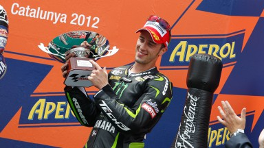Dovizioso offre à Monster Yamaha Tech3 son premier podium de 2012