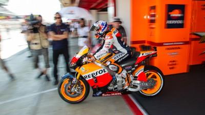 Stoner führt am Morgen des Catalunya-MotoGP™-Tests